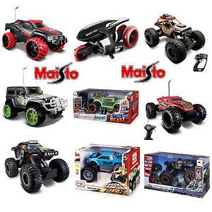 Maisto Rc Toy Car Remote Control Gadget Vudoo Rockzilla Crawler Huge
