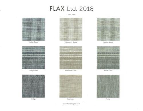 FLAX Designs  Linen V NECK TUNIC   S  /&  L    NWOT  INDIGO GAUZE