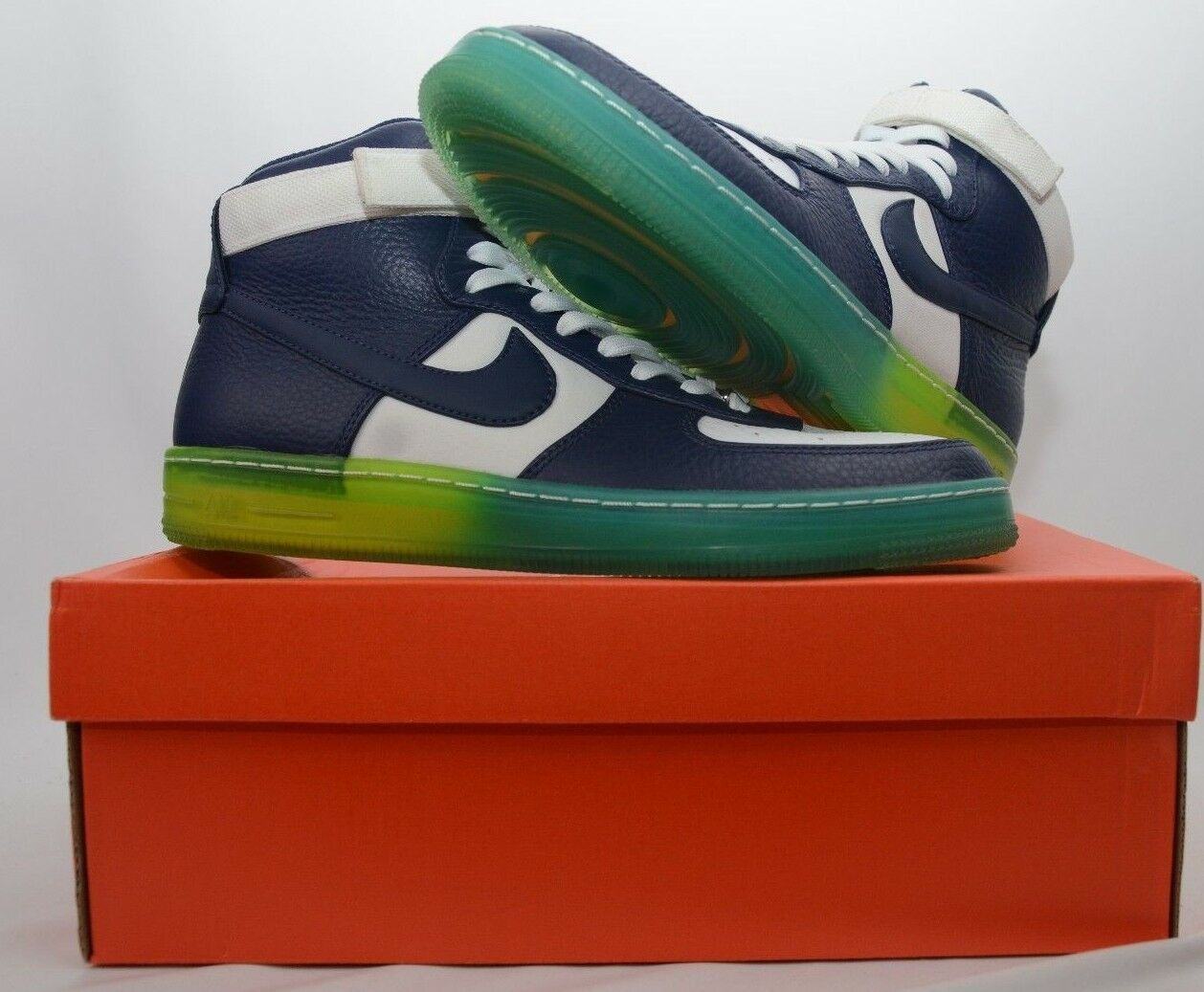 Nike air force 1 in hohen brise marine    marine 9 new in box 649572 400 08a7f1