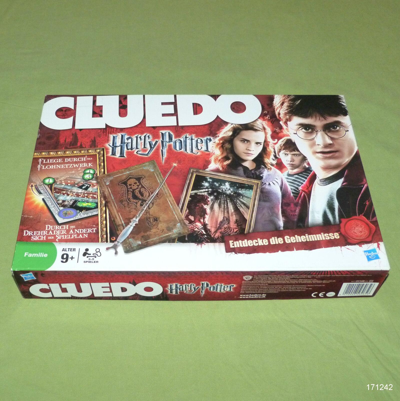 Cluedo harry potter ab 9 jahren rote sammler ausgabe von hasbro.2011 top rar.