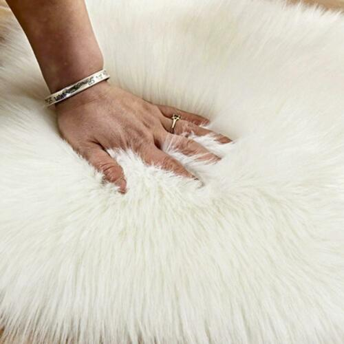 Fluffy Rugs Living Room Bedroom Shaggy Rug Faux Fur Soft Home Carpet Floor Mat