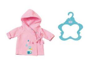 Baby-Born-Bathrobe-Bath-Robe-baby-Doll-Gown-for-43cm-Dolls-Zapf-Creation-Pink
