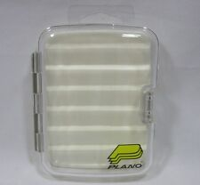 "Plano 3582 Foam Lined Clear 4"" X 3"" Fly Fishing Tackle Box"