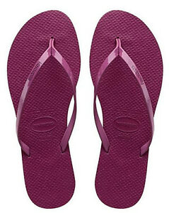 cc02d27a3 Havaianas Women`s Flip Flops You Metallic Sandals Acai Sexy Sandals ...
