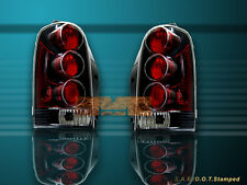 97 98 99-04 Pontiac Transport Montana Tail Lights Black