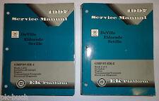 Werkstatthandbuch / Service Manual Cadillac DeVille Eldorado Seville 1997