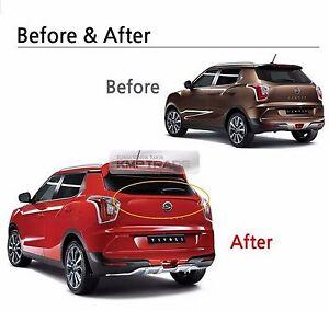 Oem Auto Parts Rear Trunk Wing Lip Spoiler For Ssangyong 2015 2016 Tivoli Ebay
