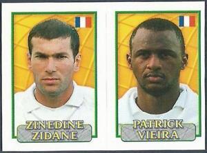 European Superstars  #160 Merlin Europe 2000 Zinedine Zidane France