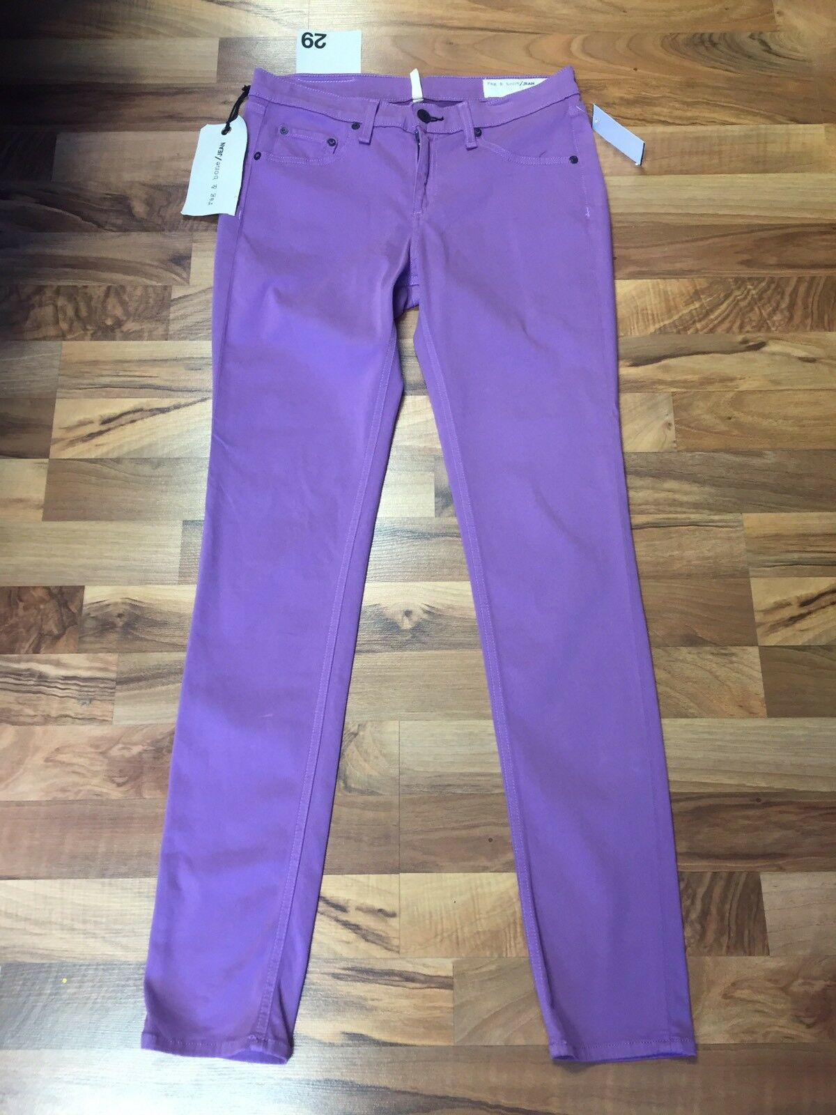 NWT Rag & Bone Jean purple Leggings 29 Retail  187