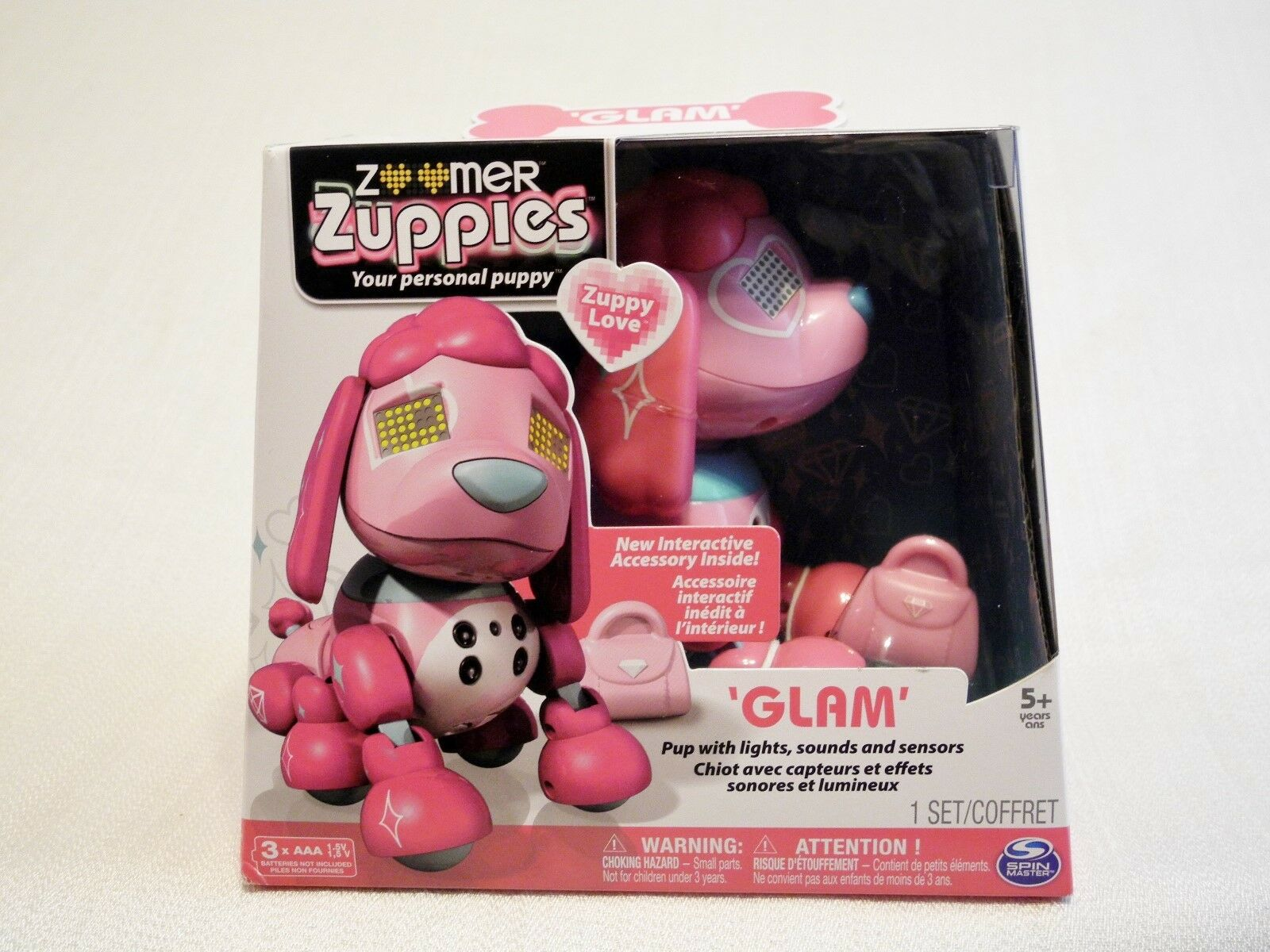 NEW Zoomer Zuppies  Glam   Personal Interactive Puppy