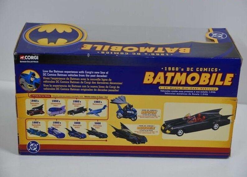 DC Comics Corgi - 1 24 Batman-Batmobile con batcommunicator - - - 77501 en OVP 64ee67
