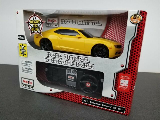 Remote Control Chevrolet Camaro Ss Rs 2010 Muscle Car Toys Race Game
