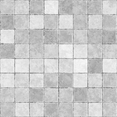 20 X Light Grey Mosaic Tile Stickers