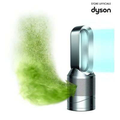 Dyson Pure Hot Cool Link Purificatore Aria Caldo/Freddo portatile Nickel