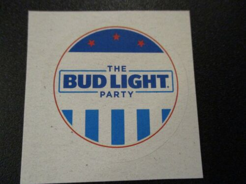 BUDWEISER Bud Light Party election circ STICKER decal craft beer brewing brewery