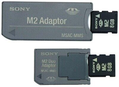 Sony Flash Memory Stick Micro M2 Compatible with Sony Ericcson Phone Capacity 8GB Ref INM28G