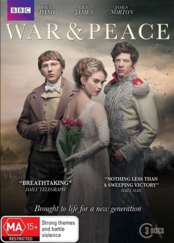 1 of 1 - WAR And PEACE : TV Series : NEW DVD