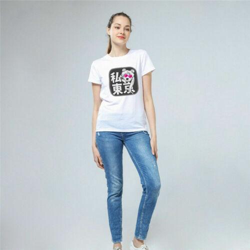 Sailor Moon T-Shirt Weiß Luna Kurzarm Cartoon Girls Mädchen Damen Shirt Ins Chic