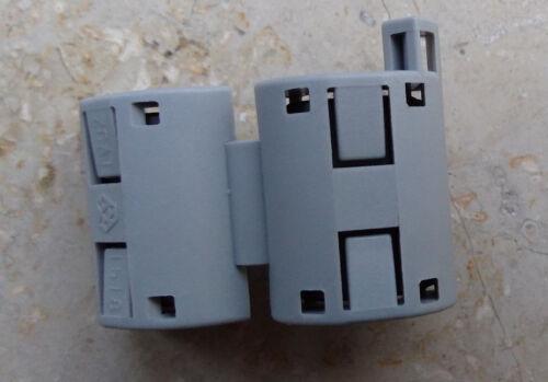 8 x Entstörkern ESK 2 zum nachträglichen Aufklemmen auf Anschlusskabel aller Art