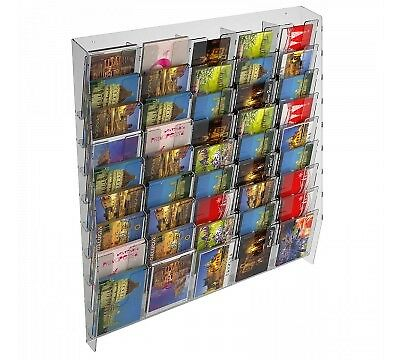 E-399 EPC-L Présentoir mural porte cartes (postales) avec 45 poches | eBay