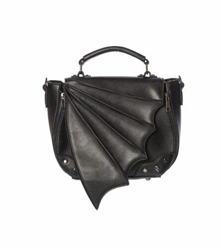 Banned Bat Wing Gothic Alternative Gwendolyn Bag