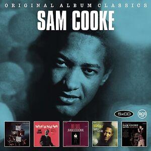 SAM-COOKE-ORIGINAL-ALBUM-CLASSICS-5-CD-NEU