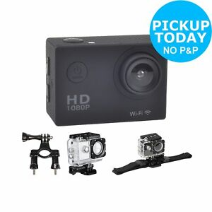 Vibe-2-Inch-LCD-1080p-HD-16MP-Water-Resistant-Action-Camera-and-Accessory-Kit