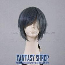 COS WIG New Short Dark Gray Cosplay Wig