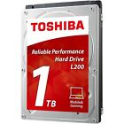 Official Toshiba L200 Mobile 1tb Hard Drive - 5400 RPM