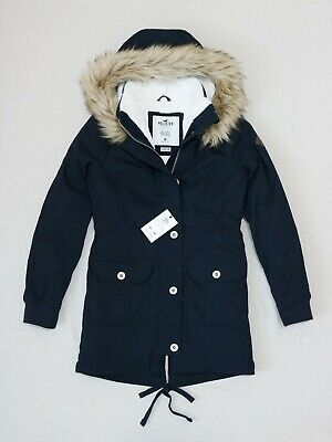 nuevo estilo 5c86a 75c8f Hollister Women Cozy Lined Parka Outerwear Jacket size XS , S , M new with  tag | eBay