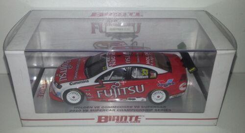 1:43 Scale Biante Lee Holdsworth 2010 GRM Fujistu Racing VE Commodore #33