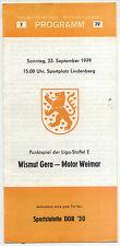 DDR-Liga 79/80 BSG Motor Weimar-BSG subcitrato gera, 23.09.1979