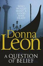 A Question of Belief by Donna Leon   Paperback Book   9780099547624   NEW