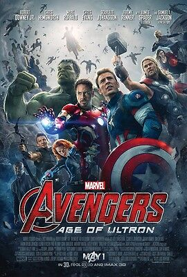 THE AVENGERS movie poster AGE OF ULTRON (b) : 11 x 17 inches AVENGERS poster