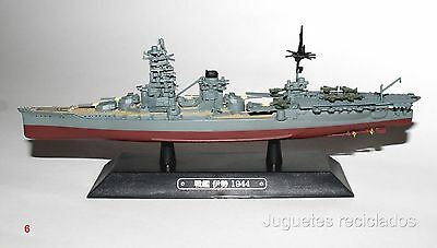 ISE BARCO DE METAL 20-25 CMS Japanese WWII Battleship boat