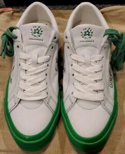 Converse X Golf Le Fleur Color Block Green White Size 10 Tyler The Creator Ebay