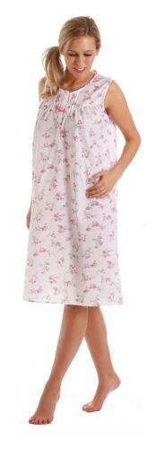 Ladies Poly Cotton Night Dress Colour Pink Size 10-32