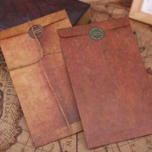 Vintage-kraft-paper-envelopes-Decorative-Small-Paper-school-office-supplies-EP