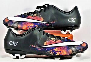 5210dafc86b5 Nike Mercurial Veloce II CR FG Black   White Soccer Cleat Sz 11 NEW ...