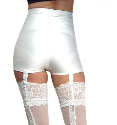 Madame Fantasy High Waisted Shorts Hot Pants Suspenders White S M L Xl Xxl Xxxl Kataloge Werden Auf Anfrage Verschickt