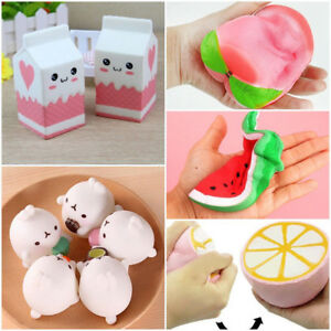 Jumbo Slow Rising Squishies Scented Charms Kawaii Squishy Squeeze Toy eBay