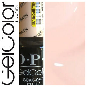 OPI-GelColor-Soak-Off-Gel-Polish-BUBBLE-BATH-Pink-15ml-New-Free-Shipping