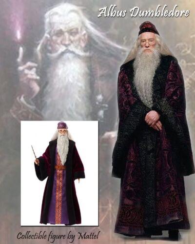 New Albus Dumbledore Hogwarts Professor 12 Inch Doll Harry Potter Mattel