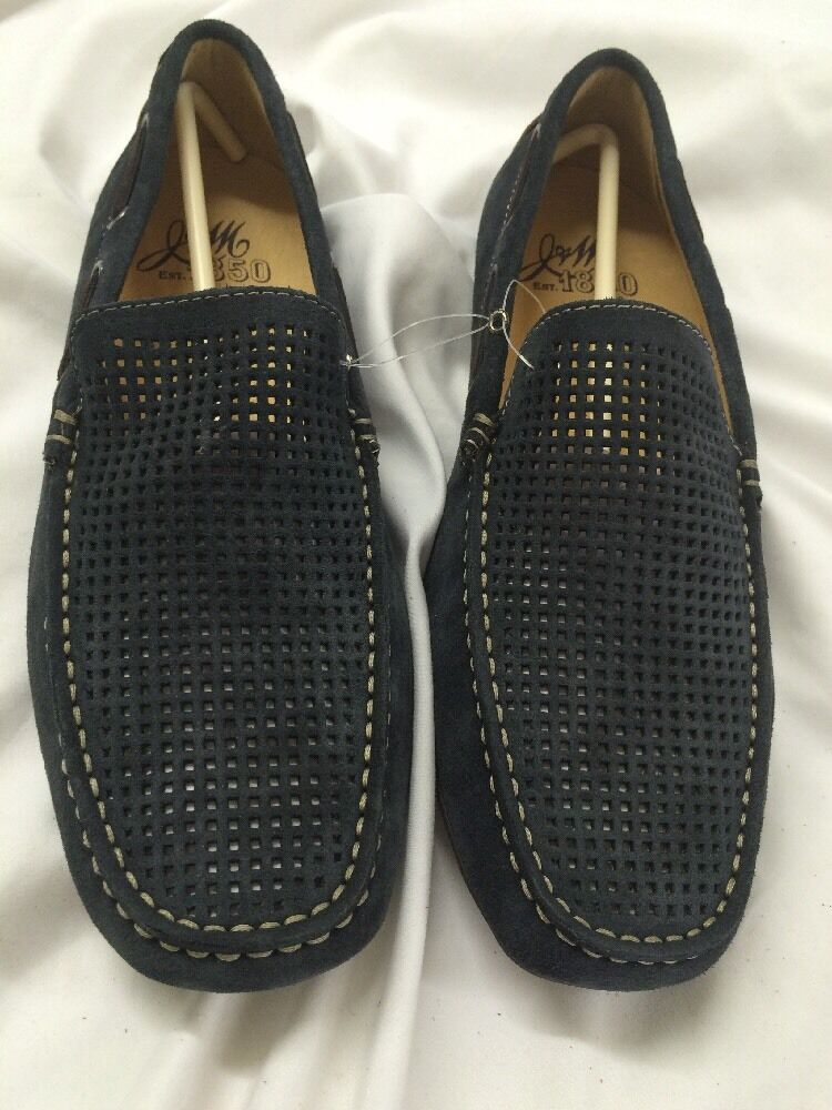 Johnston and Murphy Men's Casual Suede shoes Size 9, Retails For  Navy J22