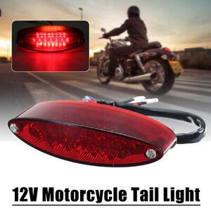 28-LED-Rouge-Feux-Freinage-Arriere-Stop-eclairage-Plaque-d-039-immatriculation-Moto