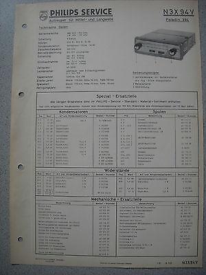 Ausgabe 01/61 Warmes Lob Von Kunden Zu Gewinnen Selbstlos Philips N3x94v Autoradio Service Manual Tv, Video & Audio