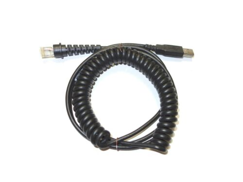 Genuine Metrologic 6ft Coiled USB Cable MS9520 MS9540 MS7120 MS1690 54235B-N-3
