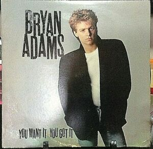 BRYAN ADAMS You Want It, You Got It Album Released 1981 Vinyl Collection USA