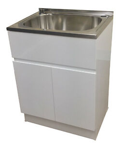 laundry sink vanity. Image Is Loading Brand-new-45L-laundry-sink-vanity-cabinet-trough- Laundry Sink Vanity