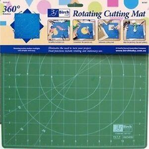 Rotating-Cutting-Mat-Self-Healing-Craft-Patchwork-Quilting-Ruler-Birch-30-x-30cm